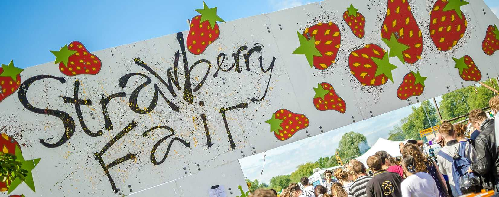 Strawberry Fair Banner
