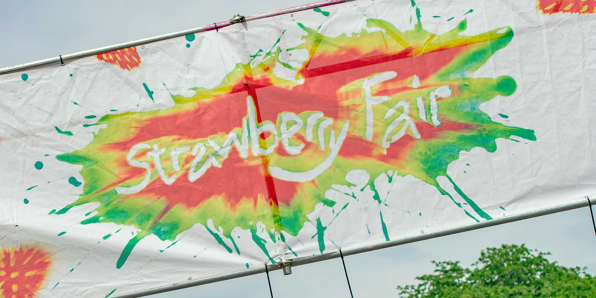 Strawberry Fair Banner 2